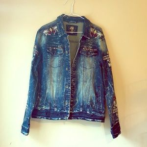 EUC 8IGHTH DSTRKT Denim jacket Size Large